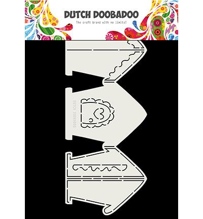 470.713.834 Dutch DooBaDoo Card Art Gingerbread House