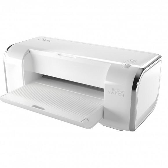 663650 Sizzix  Big Shot Switch starter kit White EU