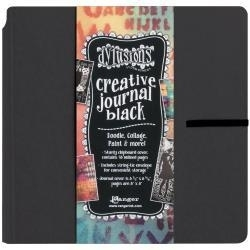 519372 Dylusions Dyan Reaveley's Black Creative Square Journal