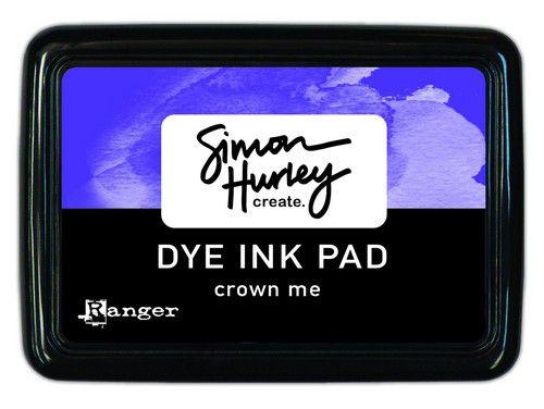HUP69324  Ranger Simon Hurley Dye Ink Pad Crown Me