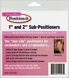 439506 Cathie Allan`s Sub Positioners