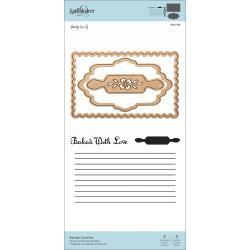 SDS159 Spellbinders Stamp & Die Set Recipe Card
