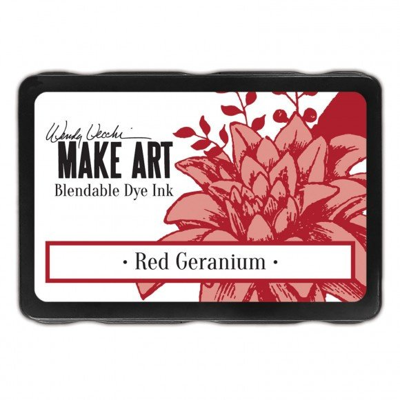 WVD62646 Wendy Vecchi Make art blendable dye ink pad red geranium