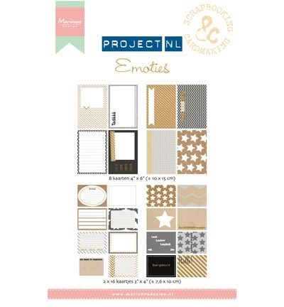 PL2503 - Project NL Card Set - Emoties