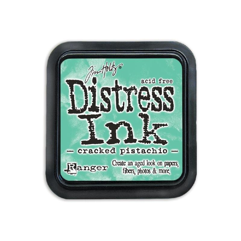124636 Tim Holtz Distress Ink Pad Shaded January-Cracked Pistachio