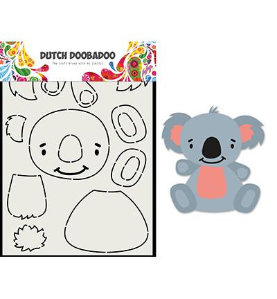470.713.837 Dutch DooBaDoo Card Art Built up Koala