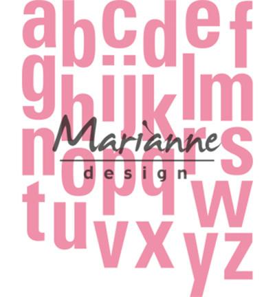 COL1449 Marianne Design Collectables Alfabet XXL