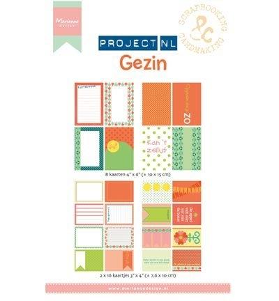 PL2502 - Project NL Card Set - Gezin