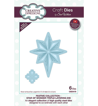 CED3170 Creative Expressions Star Of Wonder Triple Layering