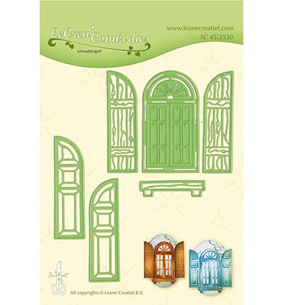 45.3530 Lea'bilitie Cutting/Emb. Window & shutters