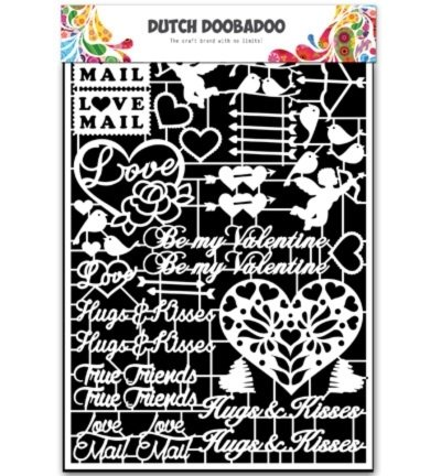 472.948.036 Dutch DooBaDoo Dutch Paper Art Valentine
