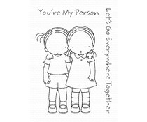 PI-295 My Favorite Things You're My Person Clear Stamps