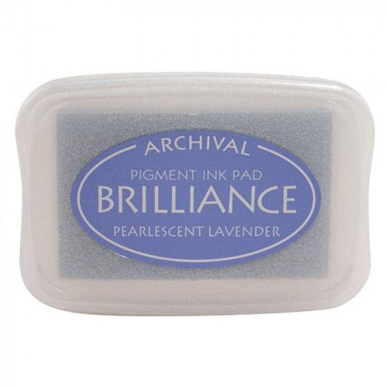BR1-37 Brilliance ink pad pearl lavender