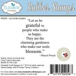 377814 Elizabeth Crafts Cling Mounted Stamps Let Us