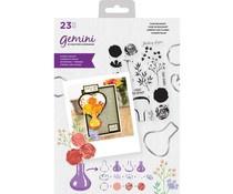 GEM-STD-VASE Gemini Vase Bouquet Stamp & Die