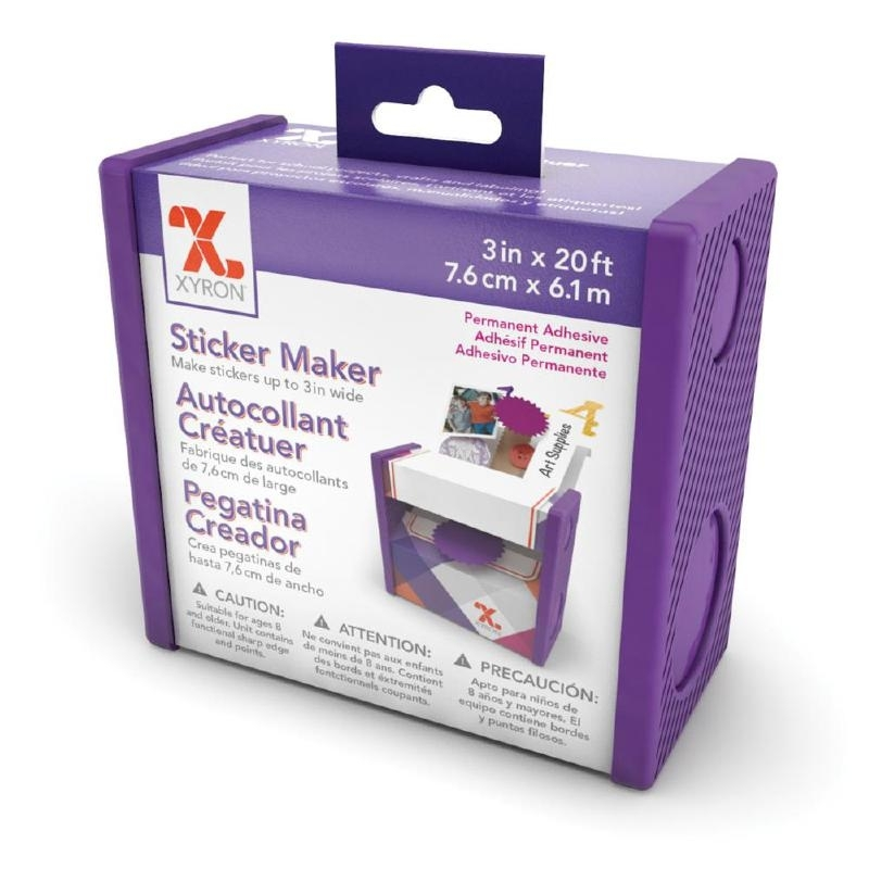 "281243 Xyron 3"" Disposable Sticker Maker 3""X20' Permanent"