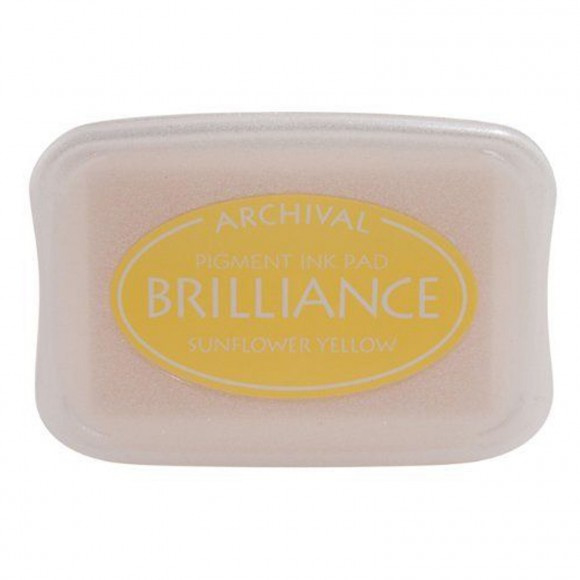 BR1-11 Brilliance ink pad sunflower yellow
