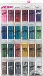 249893 Mixed Glitter & Tinsel Set (24 colors)