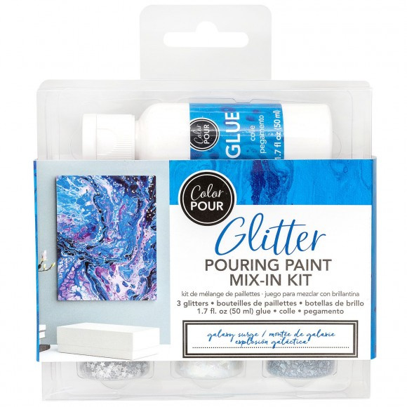 348485 American Crafts Color Pour glitter mix galaxy