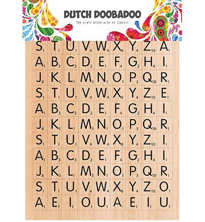 491.200.013 Dutch DooBaDoo Dutch Sticker Art Scrabble