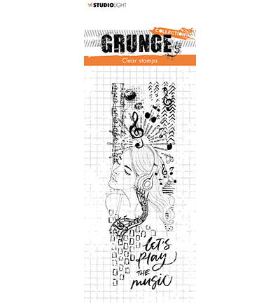 STAMPSL498 Studio Light Clear Stamp Grunge Collection nr.498