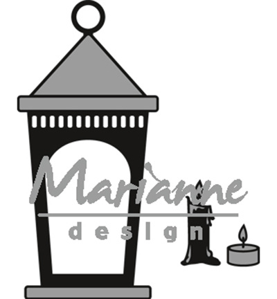 CR1424 Marianne Design Craftables Lantern