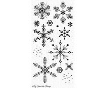 CS-164 My Favorite Things Simply Snowflakes Clear Stamps