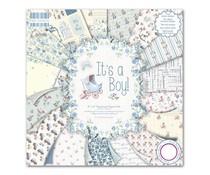 "FEPAD076 First Edition 8""x8"" Pad - It's a Boy"