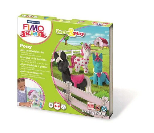 610224/8408 Fimo kids Form&Play Pony
