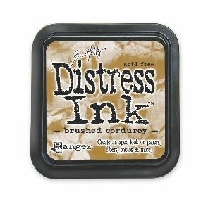 TIM21421 Distress Inkt Brushed Corduroy