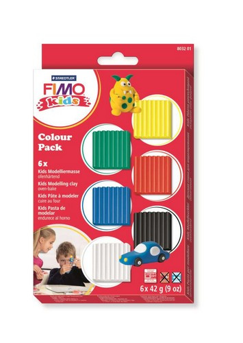 610224/8201 Fimo kids Colour pack basic