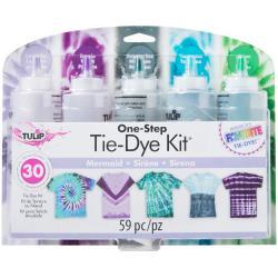 430346 ulip One-Step Tie-Dye Kit 5-Color Mermaid
