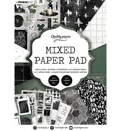 A5MPPSL161 StudioLight SL Mixed Paper Pad Pattern paper Essentials nr.161