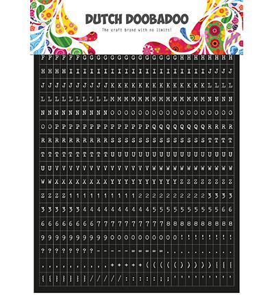 491.200.002 Dutch DooBaDoo Dutch Sticker Art Tekst