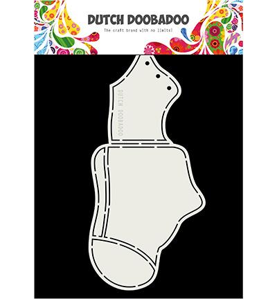 470.713.838 Dutch DooBaDoo Card Art Baby shoe