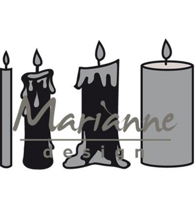 CR1426 Marianne Design Craftables Candles set