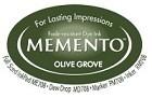222125 Memento Full Size Dye Inkpad Olive Grove