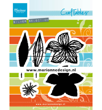 CR1493 Marianne Design craftables  Open Flowers