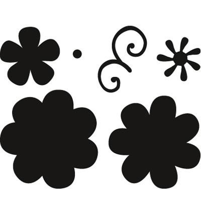 CR1356 Craftables Flower set: Fancy
