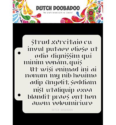 470.715.152 Dutch DooBaDoo Script