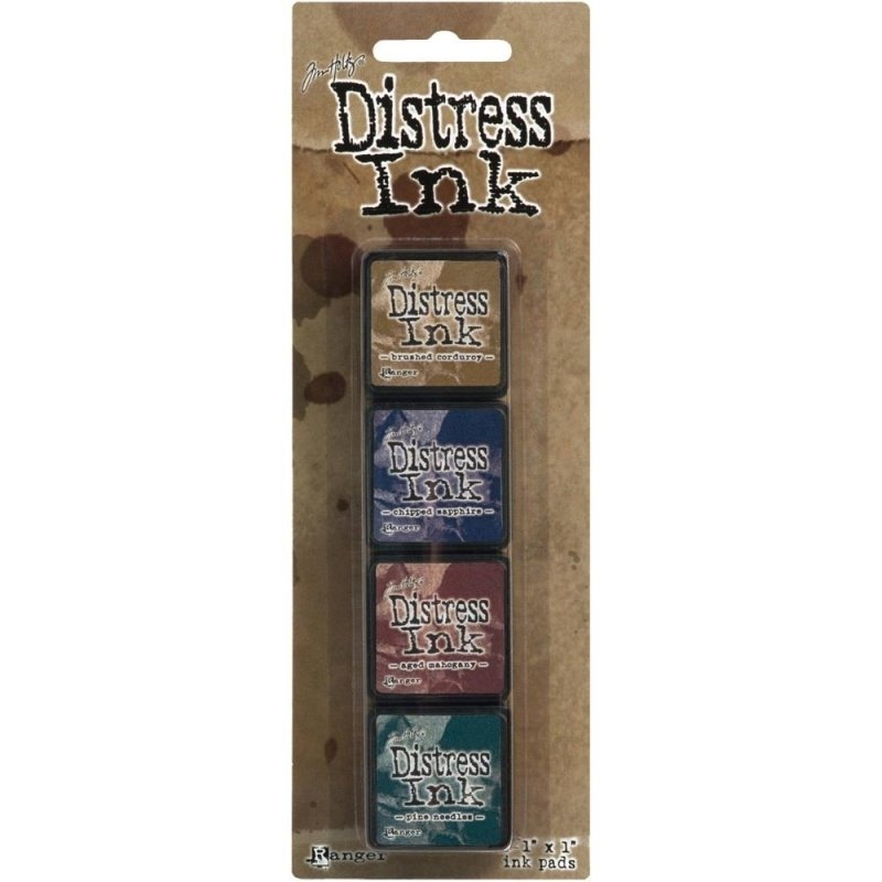 TDPK  40422 Distress Mini Ink Kit 12