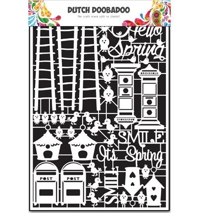472.948.037 Dutch DooBaDoo  Dutch Paper Art Spring