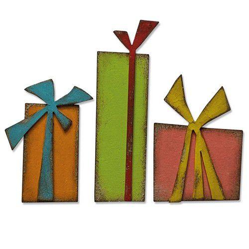 664973 Sizzix Bigz Die Gift Wrap Tim Holtz