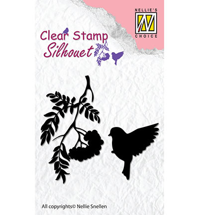 SIL029 Nellie's Choice stempel Birdsong-4