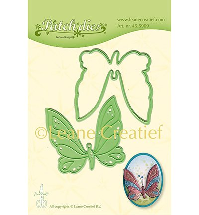 455909 Cutting & embossing Coffee Patch die Butterfly