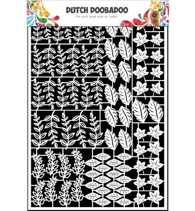 472.948.044 Dutch DooBaDoo Paper Art Leaves 2