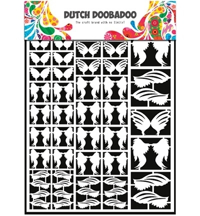 472.948.013 Dutch Doobadoo Laservel Feathers