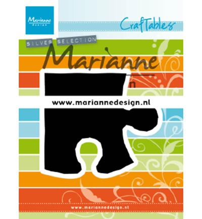 CR1491 Marianne Design craftables Puzzle piece