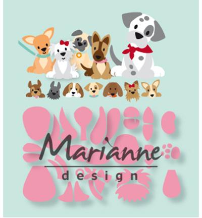 COL1464 Marianne Design Eline's puppy