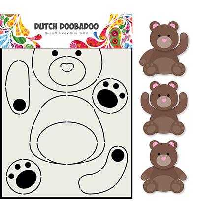 470.713.788 Dutch DooBaDoo Card Art Berenjacht